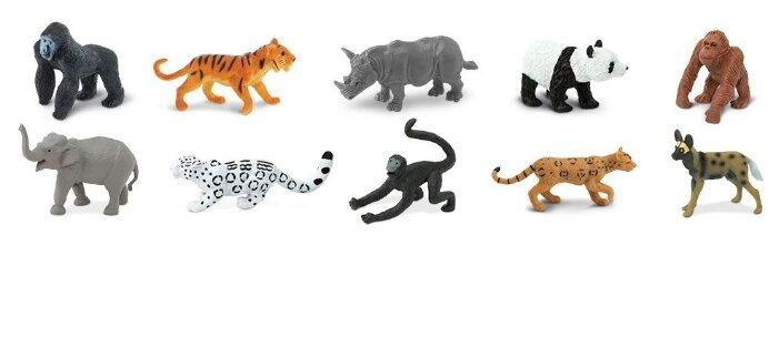 Фигурки Safari Ltd Вымирающие виды животных Земли 100109