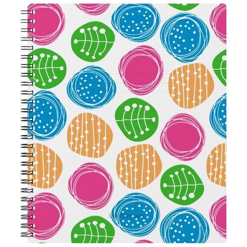Купить ErichKrause Тетрадь Buttons 45967, клетка, 60 л. разноцветный, Тетради