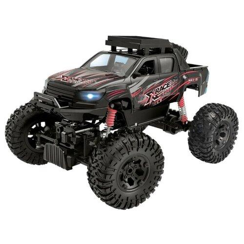 Купить Внедорожник Пламенный мотор Краулер-Амфибия (870426) 36 см черный, Радиоуправляемые игрушки