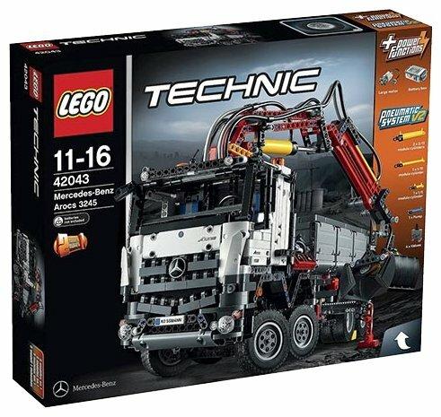 Пневматический конструктор LEGO Technic 42043 Мерседес-Бенц Арокс 3245 фото 1