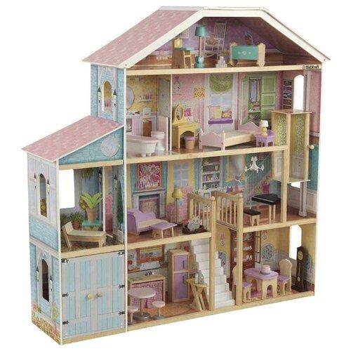 Купить KidKraft Деревянный особняк Роскошь 65954, Кукольные домики