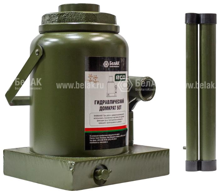 Домкрат бутылочный гидравлический БелАвтоКомплект ЭКО БАК.70023 (50 т) — купить по выгодной цене на Яндекс.Маркете