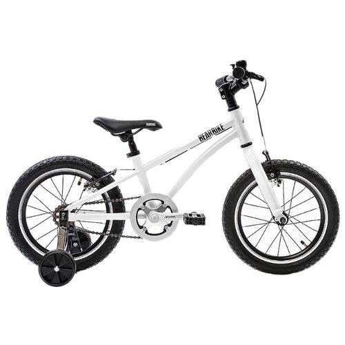 Детский велосипед BearBike Китеж 16 1s v-brake белый (требует финальной сборки)