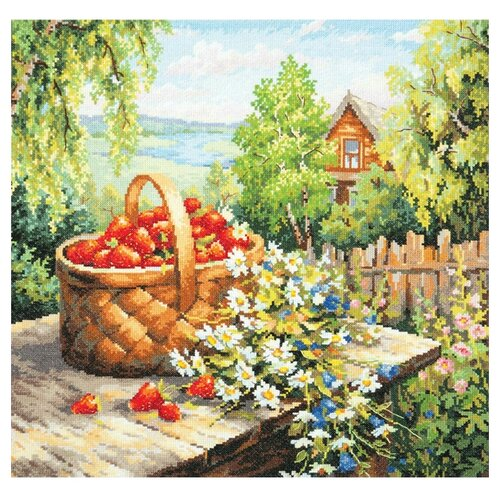 Купить Чудесная Игла Набор для вышивания Любимая дача 40 x 40 см (47-06), Наборы для вышивания