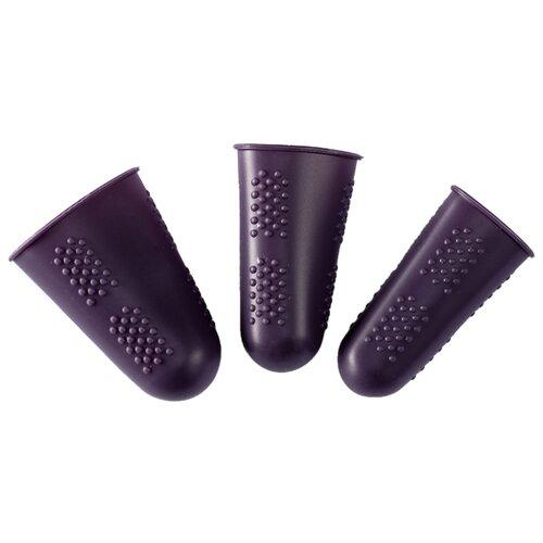 Купить Prym Колпачки для защиты пальцев, 3 шт. фиолетовый, Инструменты и аксессуары