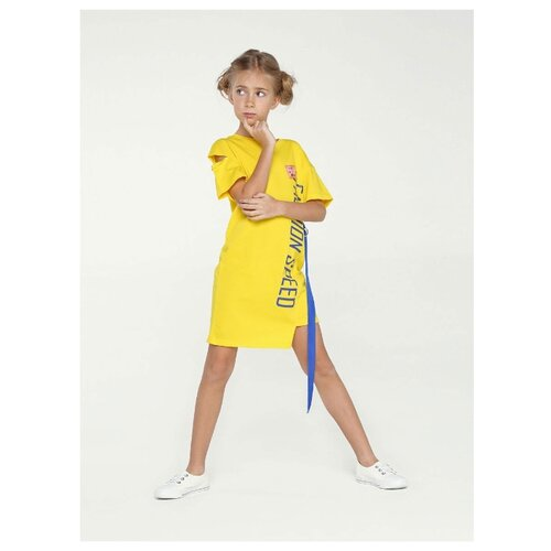 Платье Deloras размер 158, желтый