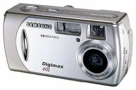 Фотоаппарат Samsung Digimax 401