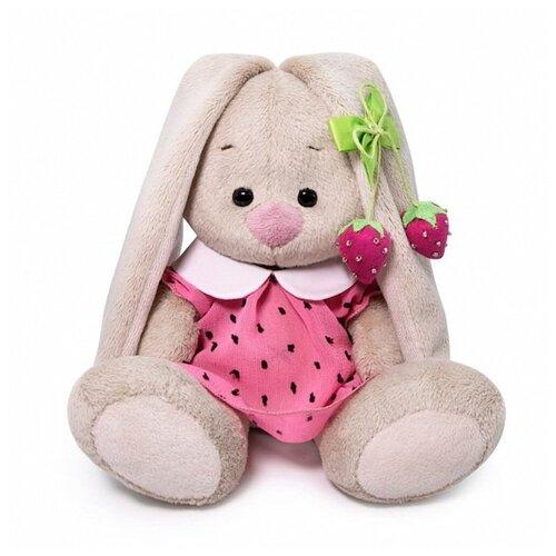 Зайка Ми в розовом платье с клубничкой (малыш) 15 см Зайка Ми SidX-375