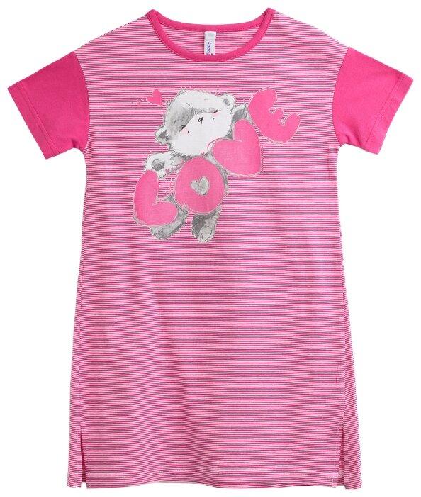 Сорочка playToday размер 122, розовый