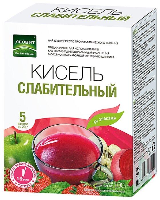 Кисель ЛЕОВИТ Слабительный 5 шт. по 20 г