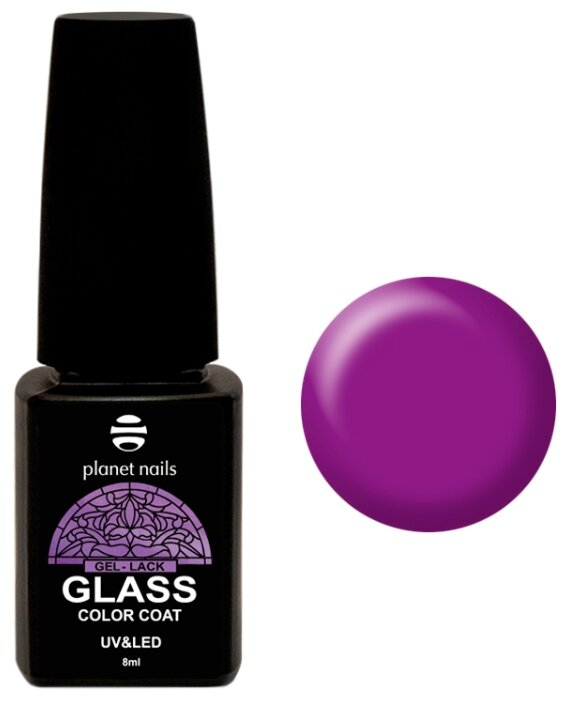 Гель лак planet nails Glass, 8 мл