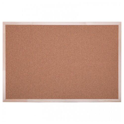 Купить Доска пробковая officespace KK_20421 (60х90 см) коричневый, Доски