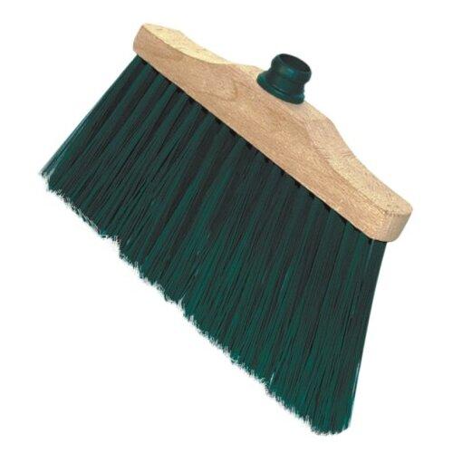 Щетка York Лаура коричневый/зеленыйВеники, совки, щетки для пола<br>