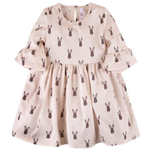 Платье Bossa Nova размер 104, мокко заяцПлатья и сарафаны<br>