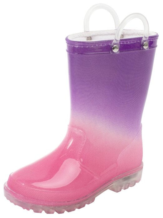 Резиновые сапоги playToday размер 28, розовый/фиолетовый