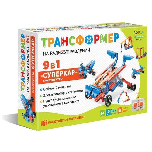 Купить Винтовой конструктор ND Play Трансформер 284388 Суперкар 9 в 1, Конструкторы