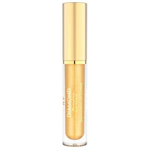 Golden Rose Блеск для губ Diamond Breeze Shimmering Lip Topper, оттенок 01 24k GoldБлески и тинты<br>