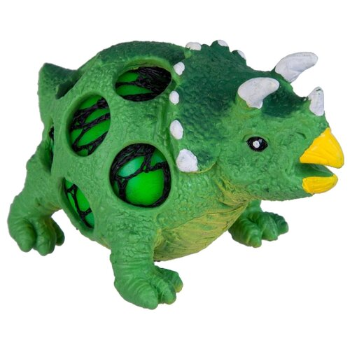 Купить Игрушка-мялка BONDIBON Динозавр трицератопс, Игрушки-антистресс