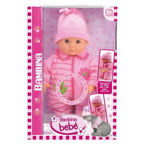Купить Интерактивная кукла Bambina Bebe, Первые шаги, 33 см, BD1377-M8, Dimian, Куклы и пупсы