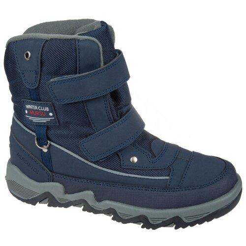 Фото - Ботинки Mursu размер 32, синий ботинки детские тотошка цвет синий n 630a b размер 32