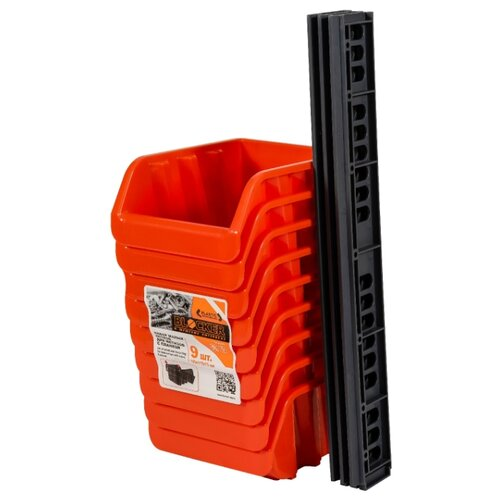 Набор лотков BLOCKER BR3743 16.7x14.3x3.5 см оранжевый