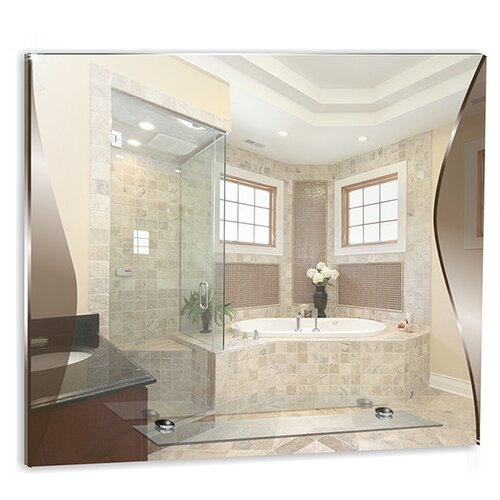 Зеркало Mixline Локон 525472 59x50 см без рамы