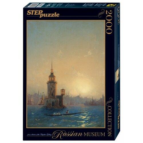 Купить Пазл Step puzzle Русские музеи Вид Леандровой Башни в Константинополе (84202), 2000 дет., Пазлы