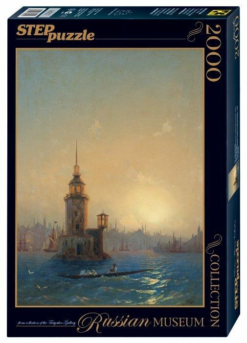 Пазл Step puzzle Русские музеи Вид Леандровой Башни в Константинополе (84202), 2000 дет.