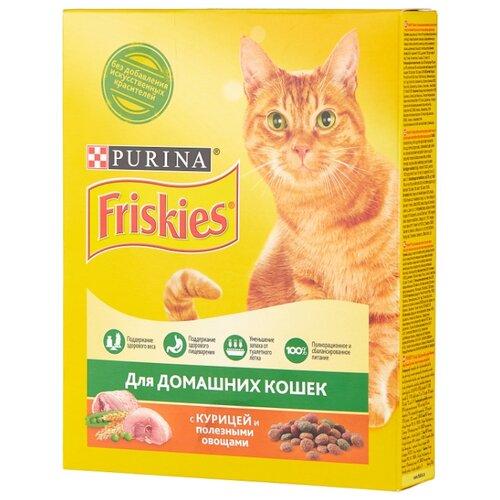 Сухой корм для кошек Friskies с курицей 300 г