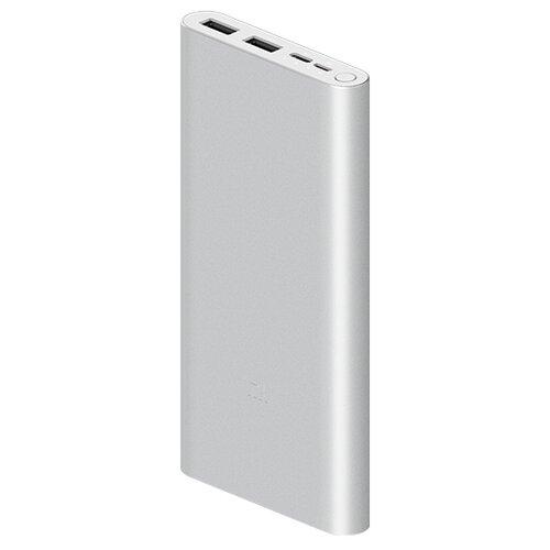 Аккумулятор Xiaomi Mi Power Bank 3 10000 (PLM13ZM), серебристый недорого