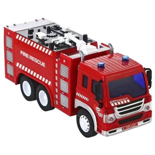 Купить Пожарный автомобиль Fun toy 44404/6 1:16 28.5 см красный, Машинки и техника