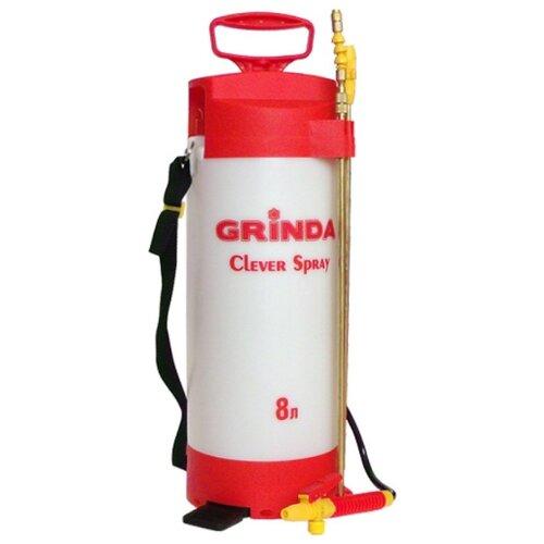 Опрыскиватель GRINDA Clever Spray 8 л белый/красный опрыскиватель ручной grinda 12л handy spray 8 425161