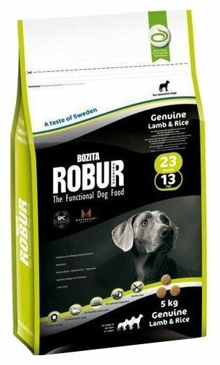 Корм для собак Bozita Robur ягненок с рисом 2 кг