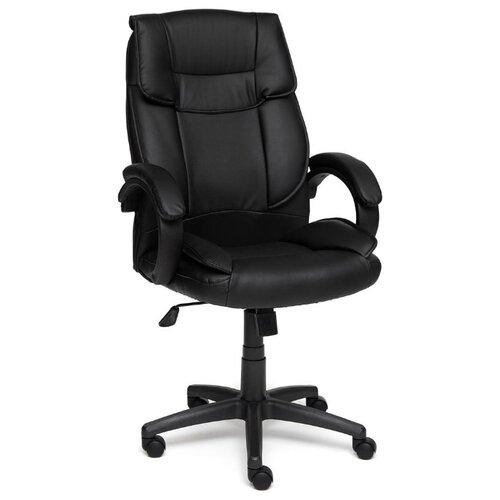 Компьютерное кресло TetChair Oreon (обивка кож/зам) для руководителя, обивка: искусственная кожа, цвет: черный/черный oreon mebelvia