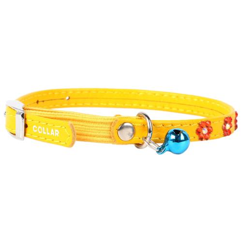 Ошейник COLLAR Glamour (3255) желтый