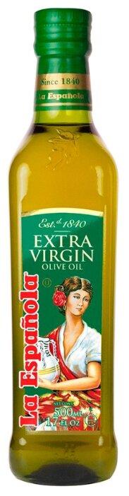 La Espanola Масло оливковое Extra Virgin, стеклянная бутылка