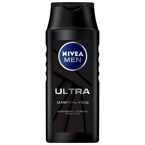 Nivea шампунь-уход Men Ultra Длительная свежесть и чистота 250 мл недорого