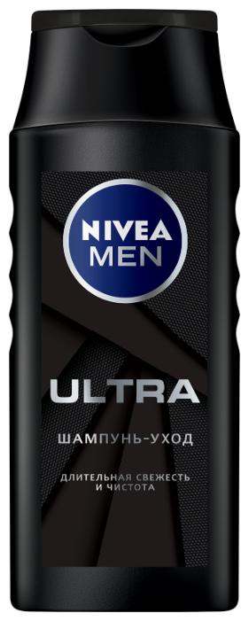 Nivea шампунь уход Men Ultra Свежесть