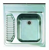 Накладная кухонная мойка ALVEUS Classic 21 60х60см нержавеющая сталь