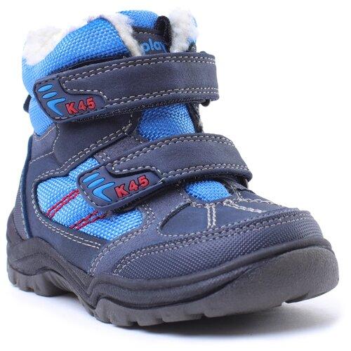 Ботинки playToday размер 22, синий/темно-синий