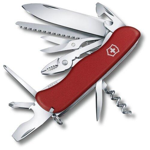 Нож многофункциональный VICTORINOX Hercules (18 функций) красный швейцарский нож victorinox hercules 0 9043 111 мм 18 функций красный