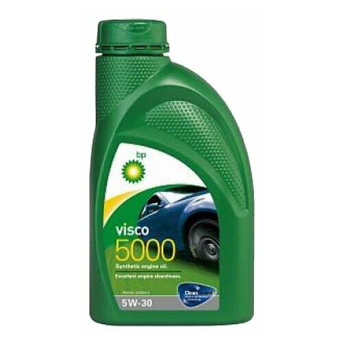 Синтетическое моторное масло BP Visco 5000 5W-30, 1 л