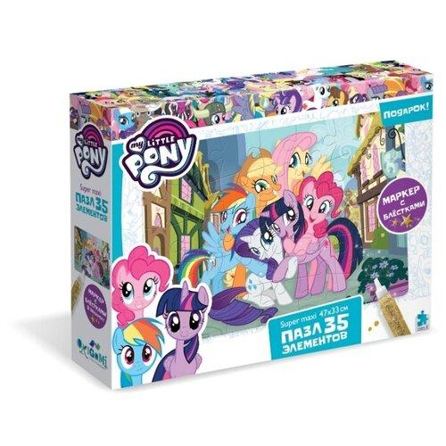 Купить Пазл Origami My little pony Вместе веселимся (04398), 35 дет., Пазлы