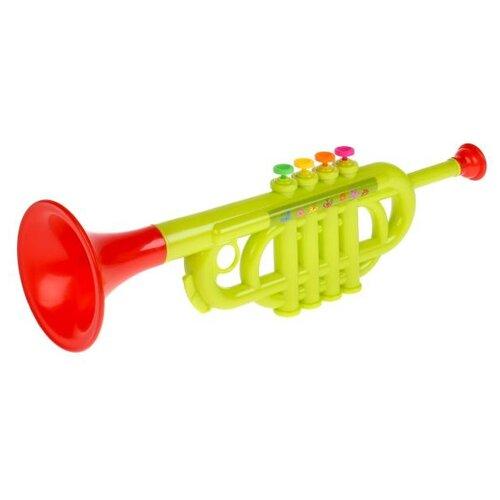 Играем вместе труба 1811M187-R красный/зеленый играем вместе труба мимимишки b782628 r3 желтый красный