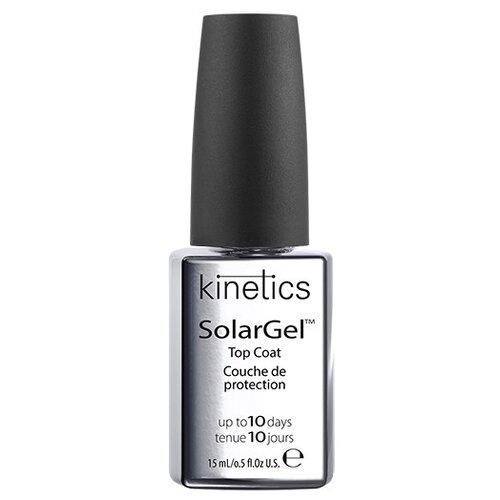 цена на KINETICS верхнее покрытие SolarGel Top Coat 15 мл прозрачный