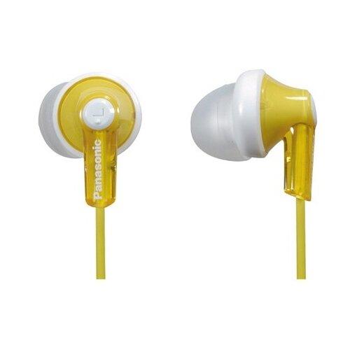 Купить Наушники Panasonic RP-HJE118 желтый