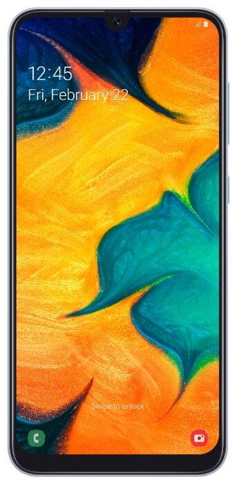 Смартфон Samsung Galaxy A30 32GB белый (SM-A305FZWUSER)