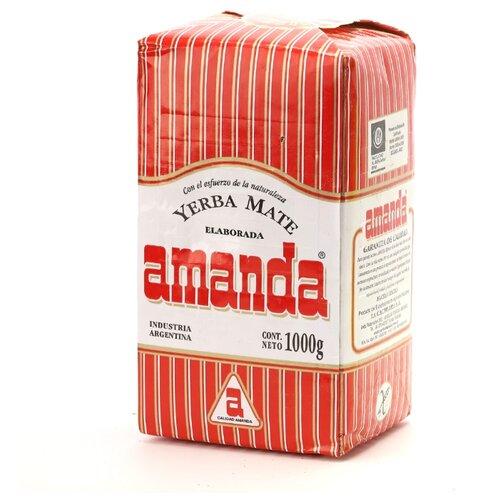 Чай травяной Amanda Yerba mate Tradicional , 1 кг amanda flower criminally cocoa