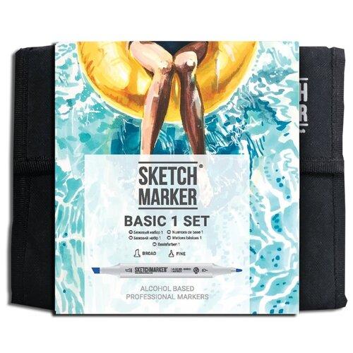 Купить SketchMarker Набор маркеров Basic Set 1, 36 шт., Фломастеры
