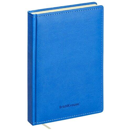 Купить Ежедневник ErichKrause Corolla недатированный, искусственная кожа, А5, 168 листов, синий, Ежедневники, записные книжки